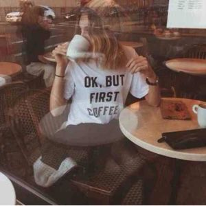 brandy melville | ok, but first coffee tee shirt
